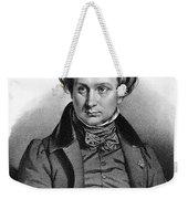 Victor Hugo (1802-1885) Weekender Tote Bag