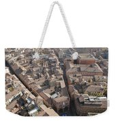 View Of Bologna From The Torre Degli Weekender Tote Bag