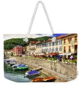 Village On The Lake Front Weekender Tote Bag