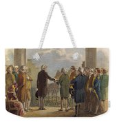 Washington: Inauguration Weekender Tote Bag by Granger