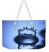 Water Drop Splashes Weekender Tote Bag