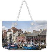 Weymouth Harbour Weekender Tote Bag