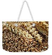 Wheat Ears And Grain Weekender Tote Bag by Elena Elisseeva
