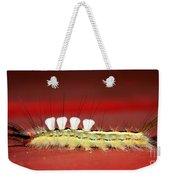 White Tussock Caterpillar Weekender Tote Bag
