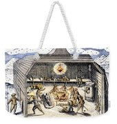 Willem Barents (c1550-1597) Weekender Tote Bag