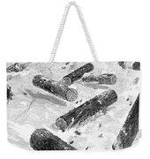 Wisconsin: Lumbering, 1885 Weekender Tote Bag