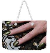 Woman Hand In Water Weekender Tote Bag