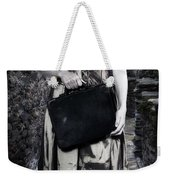 Woman In Alley Weekender Tote Bag