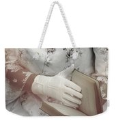 Woman With A Book Weekender Tote Bag