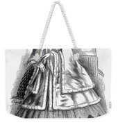 Womens Fashion. C1850s Weekender Tote Bag