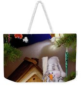 Wonderful Christmas Still Life Weekender Tote Bag