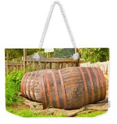 Wooden Barrels Weekender Tote Bag