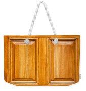 Wooden Panels Weekender Tote Bag