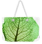 X-ray Of Cabbage Leaf Weekender Tote Bag