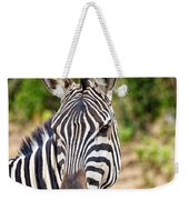 Zebras In The Masai Mara Weekender Tote Bag