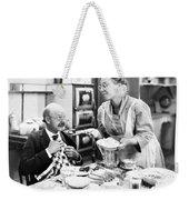 Film Still: Eating & Drinking Weekender Tote Bag
