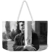 Silent Still: Single Man Weekender Tote Bag
