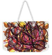 2010 Abstract Drawing 24 Weekender Tote Bag