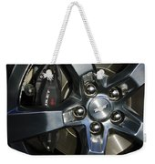 2011 Chevrolet Camaro Wheel Weekender Tote Bag