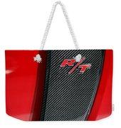 2012 Dodge Charger Rt  Weekender Tote Bag