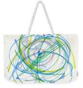 2012 Drawing #11 Weekender Tote Bag