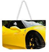 2012 Ferrari 458 Spider  Weekender Tote Bag