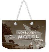 Route 66 - Blue Swallow Motel Weekender Tote Bag