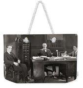 Silent Film Still: Offices Weekender Tote Bag