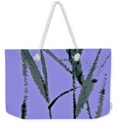 Water Reed Digital Art Weekender Tote Bag
