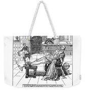 Sir Walter Raleigh Weekender Tote Bag