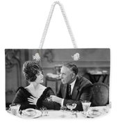 Film Still: Eating & Drinking Weekender Tote Bag by Granger