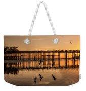 Hastings Pier Weekender Tote Bag