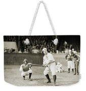 Silent Film Still: Sports Weekender Tote Bag