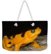 Harlequin Toad Weekender Tote Bag