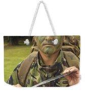 A British Army Gurkha Weekender Tote Bag