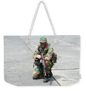 A Paratrooper Of The Belgian Army Weekender Tote Bag by Luc De Jaeger