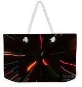 Abstract Motion Lights Weekender Tote Bag