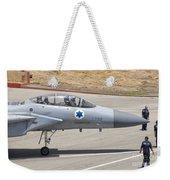 An F-15d Eagle Baz Aircraft Weekender Tote Bag