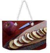 Apple Chips Weekender Tote Bag