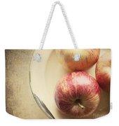 3 Apples Weekender Tote Bag