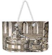 Archimedes (c287-212 B.c.) Weekender Tote Bag