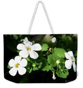 Bacopa Named Snowtopia Weekender Tote Bag