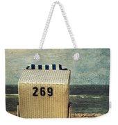 Beach Chair Weekender Tote Bag by Joana Kruse