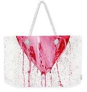 Bleeding Heart Weekender Tote Bag