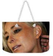 Blond Woman Weekender Tote Bag