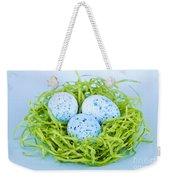 Blue Easter Eggs  Weekender Tote Bag