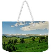 Bridger Mountain View Weekender Tote Bag