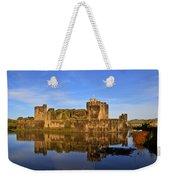 Caerphilly Castle Weekender Tote Bag