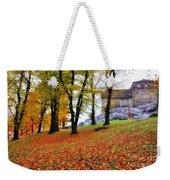Castle In Autumn Weekender Tote Bag