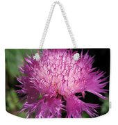 Centaurea From The Sweet Sultan Mix Weekender Tote Bag